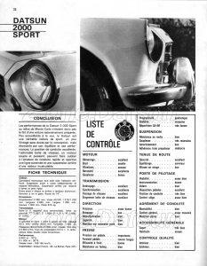 essai fairlady 2000 sports665