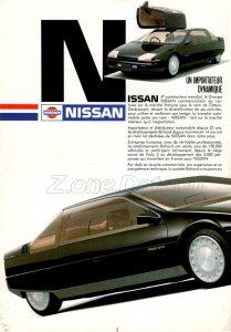 MAGAZINE NISSAN FRANCE 1986 0 (1)