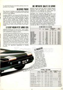 MAGAZINE NISSAN FRANCE 1986 0 (2)