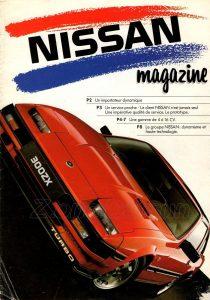 MAGAZINE NISSAN FRANCE 1986 0