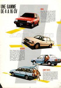 MAGAZINE NISSAN FRANCE 1986 0 (4)