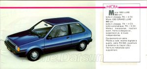 GAMME NISSAN 1985939