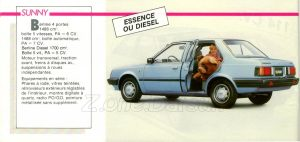 GAMME NISSAN 1985942