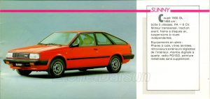 GAMME NISSAN 1985943