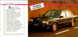 GAMME NISSAN 1985946