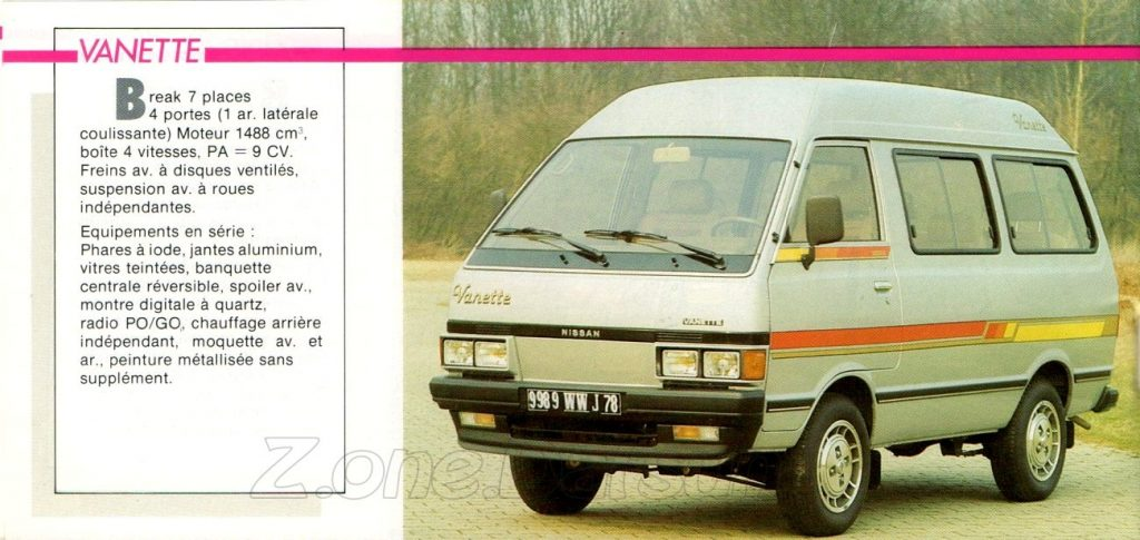 GAMME NISSAN 1985950