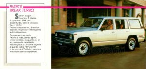 GAMME NISSAN 1985952