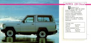 GAMME NISSAN 1985957