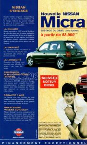 GAMME NISSAN 1998922