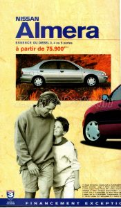 GAMME NISSAN 1998924