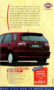 GAMME NISSAN 1998925