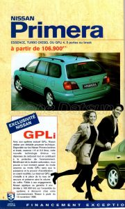 GAMME NISSAN 1998926