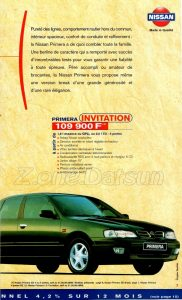 GAMME NISSAN 1998927