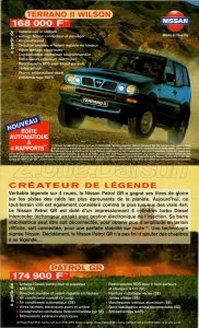 GAMME NISSAN 1998931