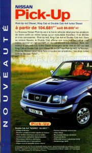 GAMME NISSAN 1998932