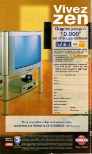 GAMME NISSAN 1998936