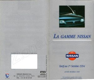 GAMME NISSAN FRANCE 1994887