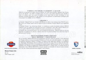 GAMME NISSAN FRANCE 1995908