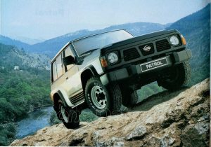 NISSAN gamme 4x4 1992001