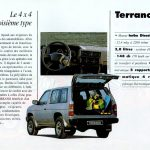 NISSAN gamme 4x4 1992004