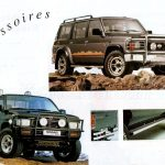NISSAN gamme 4x4 1992007