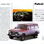 NISSAN gamme 4x4 1992999