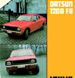 DATSUN 120A COUPE FII128