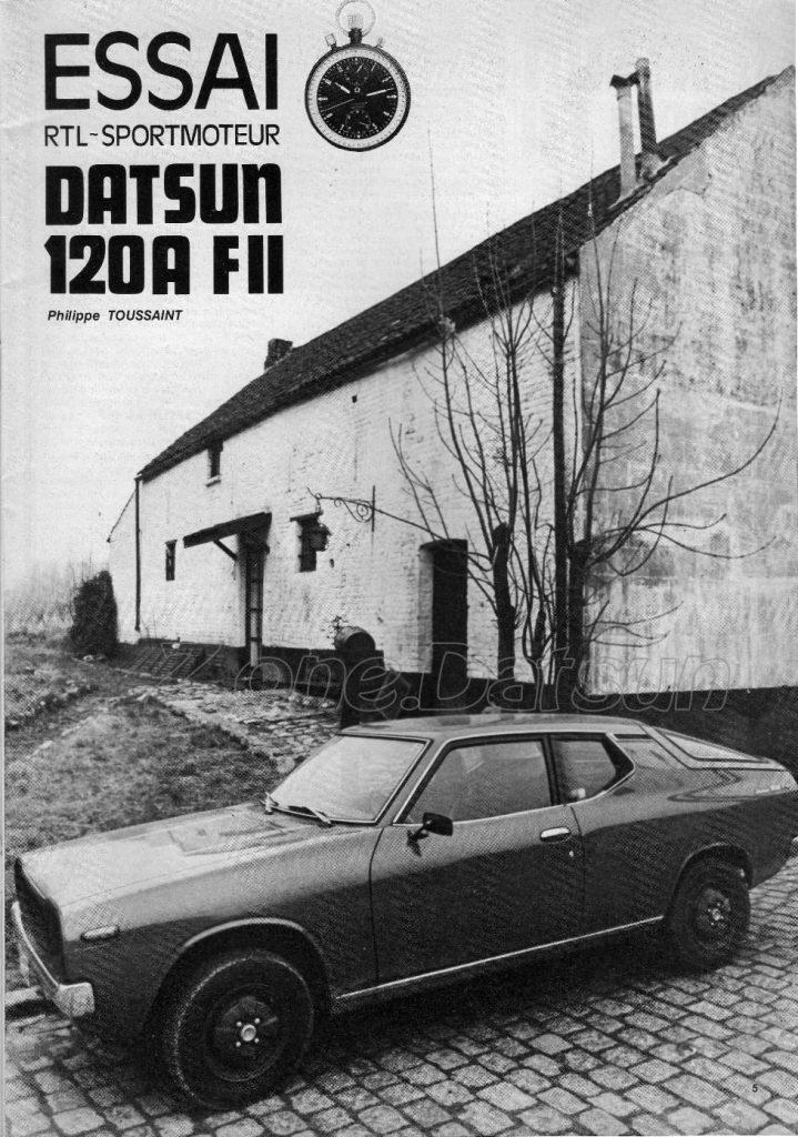 DATSUN 120A COUPE FII130