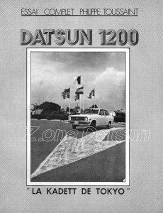 ESSAI DATSUN 1200 1972102