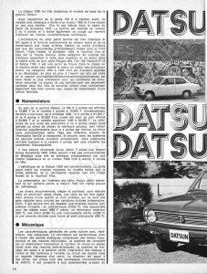 ESSAI DATSUN 1200 1972103