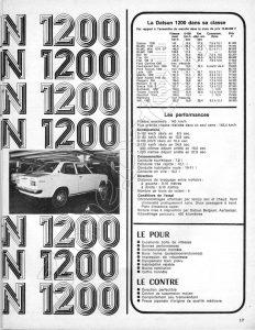 ESSAI DATSUN 1200 1972106